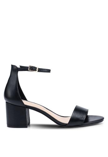 ALDO 黑色 繞踝高跟鞋 69EF5SH90980C4GS_1
