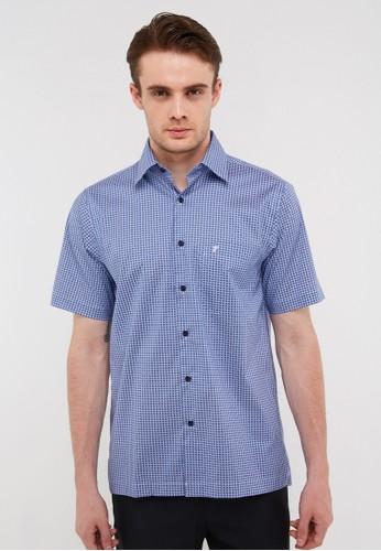 Tootal blue Short Shirt  900DB B060FAAF4D96B8GS_1