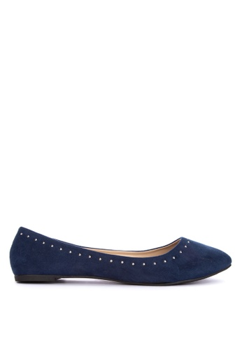 BENCH blue Ballerina Flats 6465BSH2DF35F0GS_1