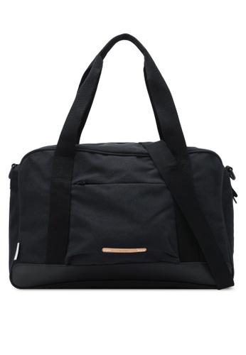 Rawrow black Wax Cotna 340 Boston Bag RA312AC0SIYNMY_1