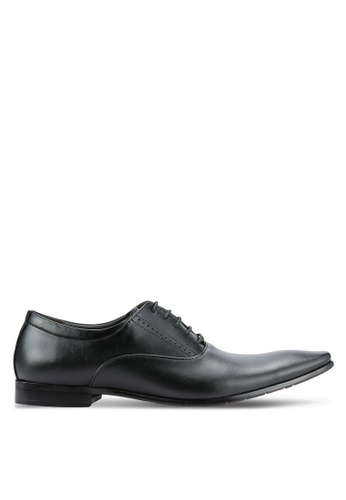 Frank Williams black Leather Dress Shoes FR169SH0RE6RMY_1