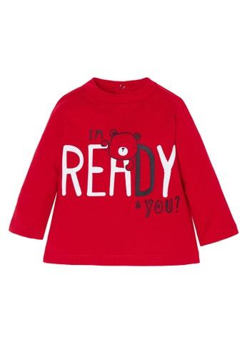 OVS red Teddy Bear Print T-Shirt 3311EKA26322C5GS_1