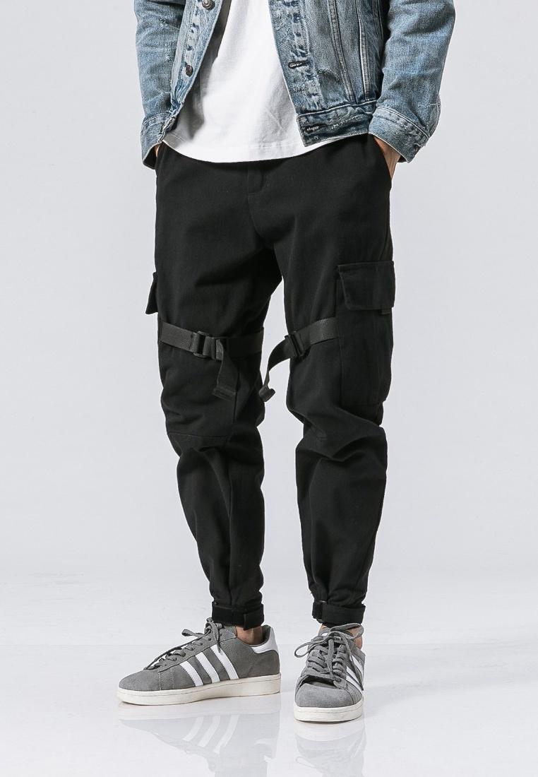Regular ehunter Casual Pants hk black Fit USISxrwqd