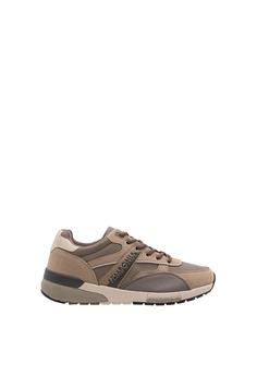 ba16092024 SEMBONIA brown Men Microfiber Sneaker (Brown) 7435ESH287A167GS 1