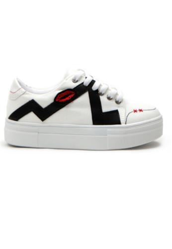 Crystal Korea Fashion white Korean New Versatile Comfortable Casual Shoes AAC51SH514666BGS_1