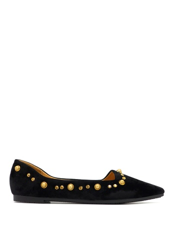 Carlo Rino black Carlo Rino 33320-C009-08 Pointed Toe Flats D3A78SH3119F84GS_1