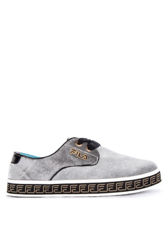 FILA grey Mantra Lifestyle Sneakers 53E2FSHF146A47GS_1