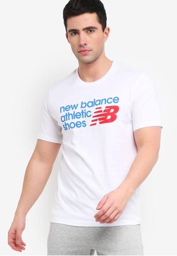 a93c5e39f2370 Buy New Balance Athletics Shoebox Tee Online on ZALORA Singapore