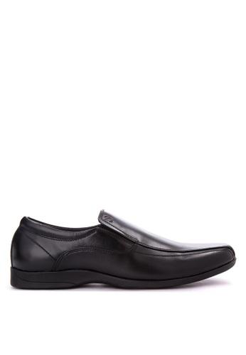 Sledgers black Jack Classic Slip On Office Shoes SL142SH0JWJMPH_1