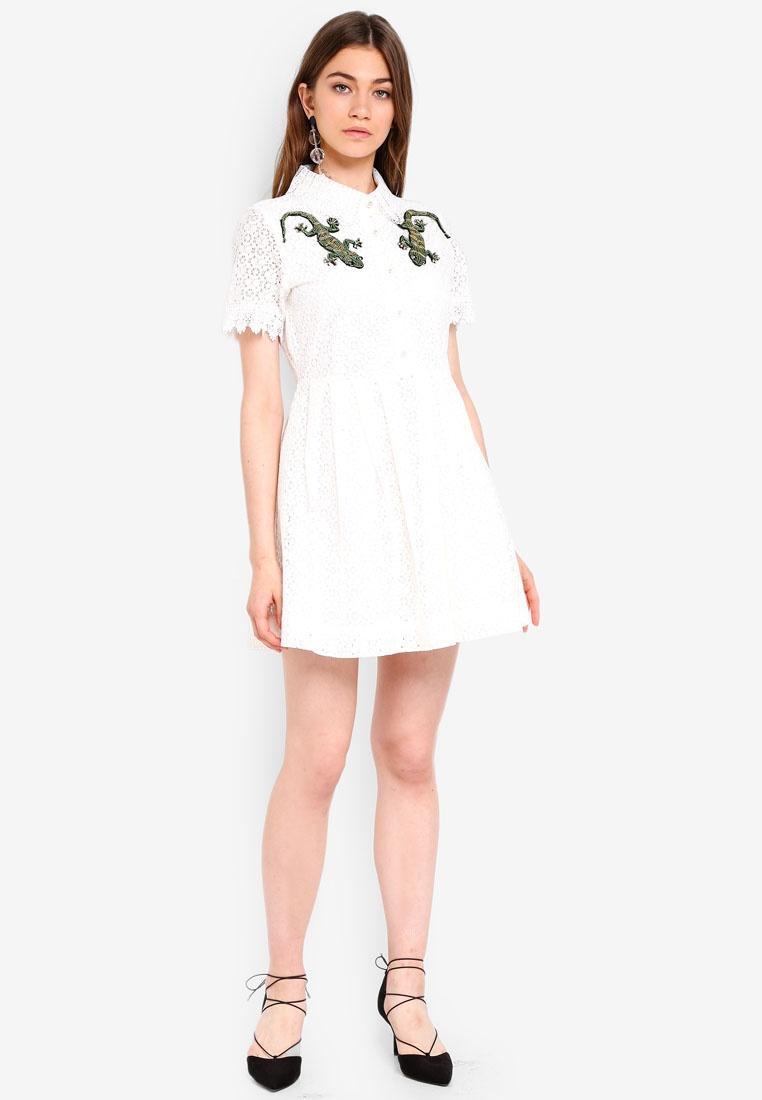 Sister Ivory Jane Skater Dress Amazonia wTg08Wq