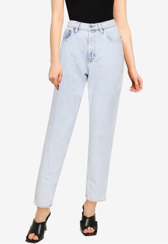 Mango blue Mom-Fit Jeans 1C10CAA721DA10GS_1