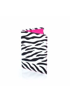 Zebra Passport Holder