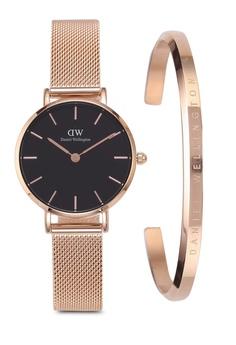 8fab14d2a3 Daniel Wellington Combo Melrose 28mm Black Watch + Classic Bracelet RM  850.00. Sizes One Size
