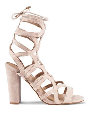 Billini beige Barrington Heels BI606SH0RT3DMY_1