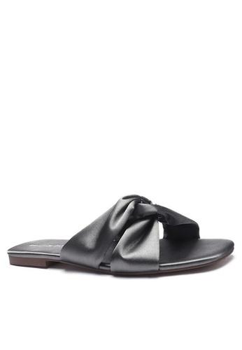 Twenty Eight Shoes Satin Bow Slippers 101-13 2B74FSH8951E90GS_1