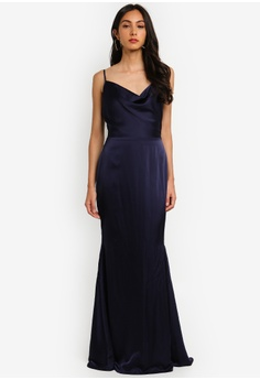 33a89beb40c4 10% OFF MISSGUIDED Petite Satin Cowl Maxi Dress RM 299.00 NOW RM 268.90  Sizes 6 8 10 12 14