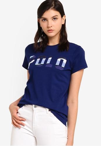 polo ralph lauren navy Short Sleeve Polo T-shirt 044F0AAC12A19CGS_1