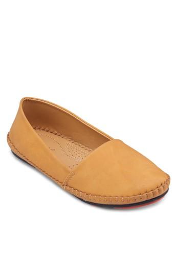簡約休閒平底鞋, 女鞋esprit專櫃, 船型鞋
