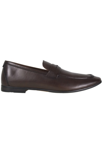 Tomaz brown Tomaz F145 Formal Saddle Slip On (Coffee) 606C4SH05C09BBGS_1
