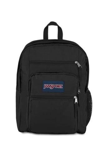 Jansport black Jansport Unisex Big Student Backpack Black- 34L 303E5AC0F426C0GS_1