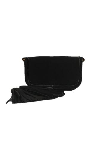 Moschino black MOSCHINO CROSSBODY BAG 8D449AC43A8794GS_1