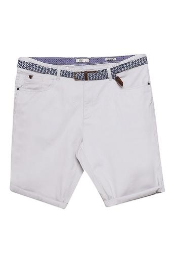 LC Waikiki grey Slim Fit Bermuda Shorts 82D6FAA79BBB7DGS_1