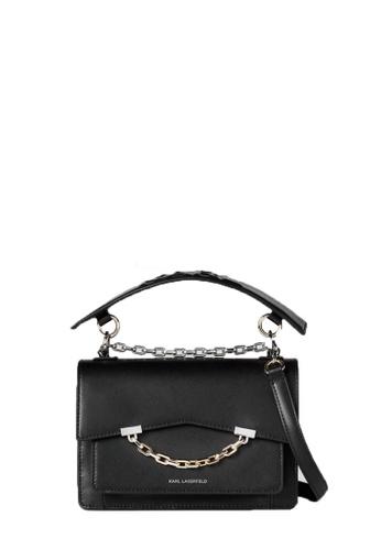 KARL LAGERFELD black K/Karl Seven Mini Shoulderbag B80C0ACE26C999GS_1