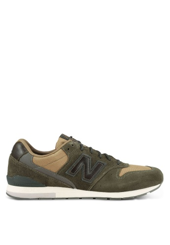 New Balance green 996 Outdoor Essence Lifestyle Sneakers NE323SH0S8NKMY_1