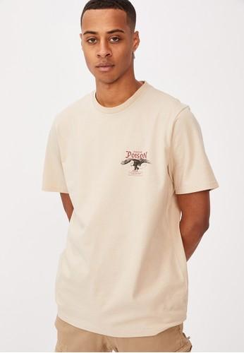 Cotton On brown Tbar Moto T-Shirt BDB0FAAFC45D76GS_1