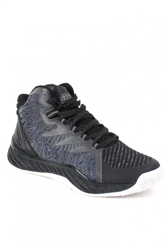 World Balance black Crunchtime Men's Basketball Shoes 4E3ACSH2F33BB3GS_1