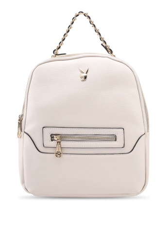 PLAYBOY BUNNY beige Playboy Bunny Ladies Backpack 2FF71ACDDCADC4GS_1