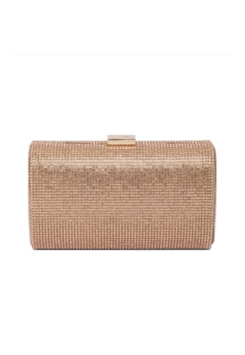 Dune London pink Dune London Bryannie Crystal Embellished Clutch Bag E2166ACB6B7374GS_1