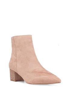 8a6cdb056c3 60% OFF Miss Selfridge Alesha Diamond Heel Boots RM 279.00 NOW RM 111.90  Sizes 3 4 5
