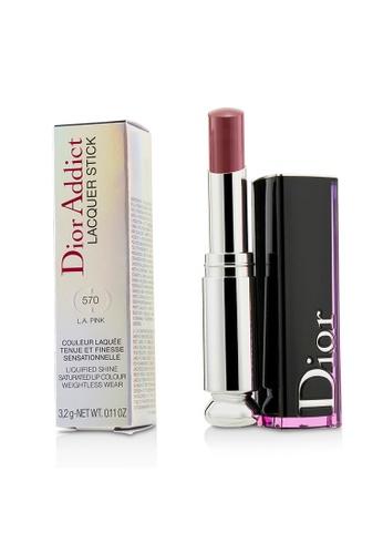 Christian Dior CHRISTIAN DIOR - Dior Addict Lacquer Stick - # 570 L.A. Pink 3.2g/0.11oz EAF3BBE7BDF3C2GS_1