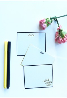 Stay Gold Notecards - 12pcs/set
