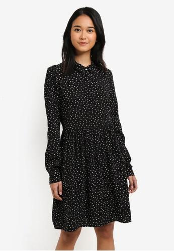 ONLY black Nova Shirt Dress 842CEAACC0490CGS_1