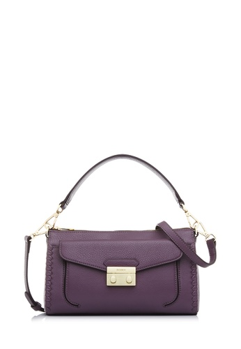 BONIA purple Orchid Broad Sling Bag 4B9F7ACBA64105GS_1