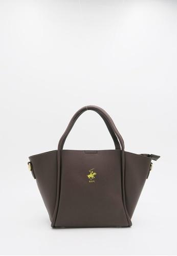 256e9705e0fc Beverly Hills Polo Club brown Beverly Hills Polo Club Tote Handbag  941B9AC10C814AGS 1