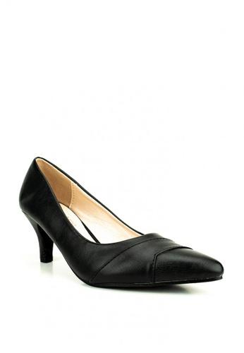 Cardam's Lifestyle black Brea Pumps D7C41SHE060B26GS_1