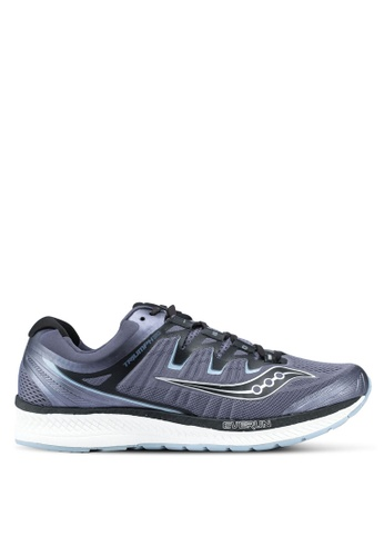 Saucony grey Triumph ISO 4 Running Shoes SA304SH0SW57MY_1