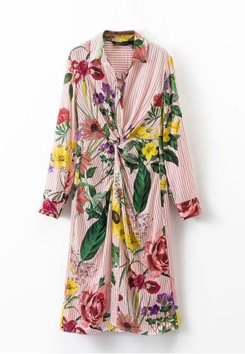 Sunnydaysweety multi New Stripe Pattern Summer Dress C073146 SU219AA0HA8SSG_1