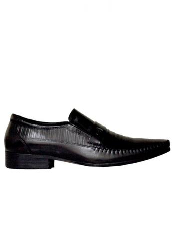 Gino Mariani black Gino Mariani Men's Leather Shoes DESTON  - BLACK E289BSHDF85E91GS_1