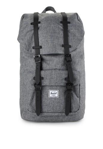 Herschel black Little America Backpack HE449AC0UDOVID_1
