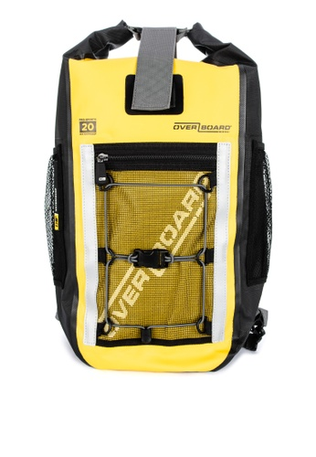 Overboard yellow Pro-Sports 20 Liter Waterproof Backpack 203E7AC83DE40DGS_1
