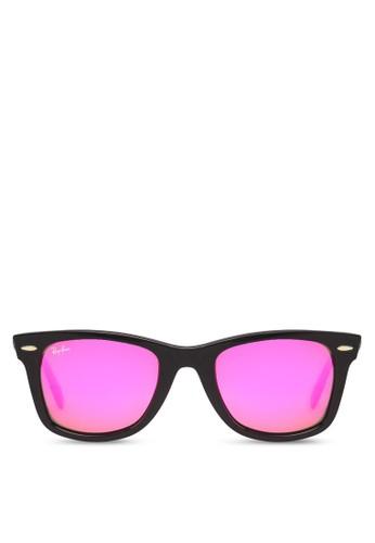 Original Wayfarer Bicolor 太陽眼鏡, 飾品配件,zalora鞋 飾品配件