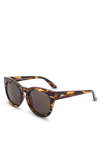 Le Specs green Jealous Games Sunglasses BDDE1GLADDA79AGS_1