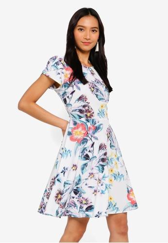 Angeleye white and multi Daisy Dress 39506AABA0B8E1GS_1