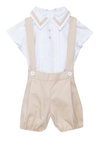 RAISING LITTLE beige Elias Outfit Set E184BKAEE12F94GS_1