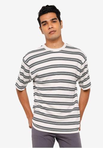 RAGEBLUE white Knit T-Shirt 6C45CAA63EBADDGS_1