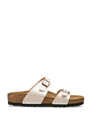 Birkenstock white Sydney Graceful Sandals BC3C3SHA4135EDGS_1